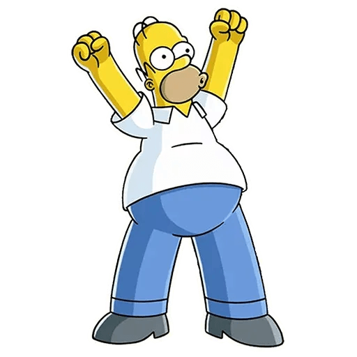 Homer Simpson - Sticker 22