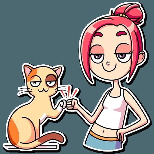 MiaCatlady - Sticker 23