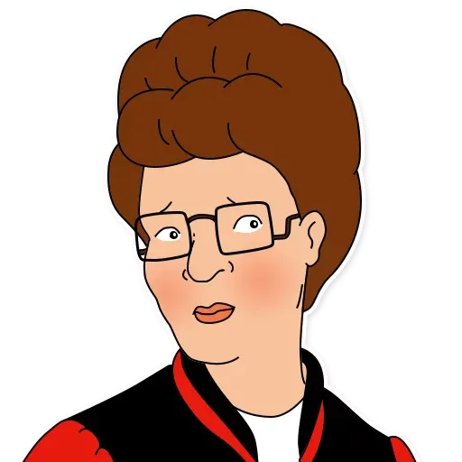 King of the hill - Sticker 23