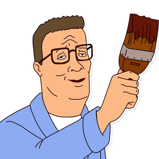 King of the hill - Sticker 10