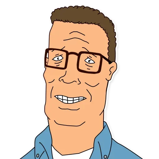 King of the hill - Sticker 6