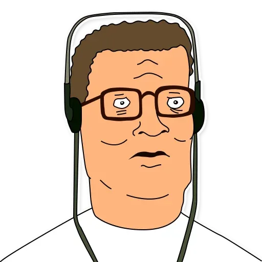 King of the hill - Sticker 7