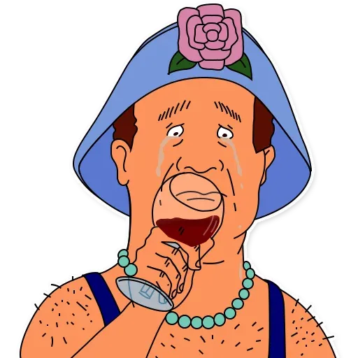 King of the hill - Sticker 27
