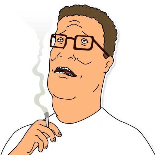 King of the hill - Sticker 9