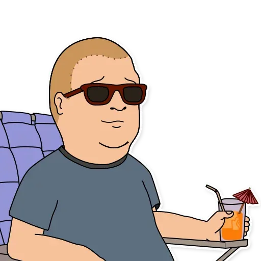 King of the hill - Sticker 13
