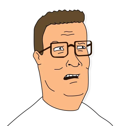 King of the hill - Sticker 12