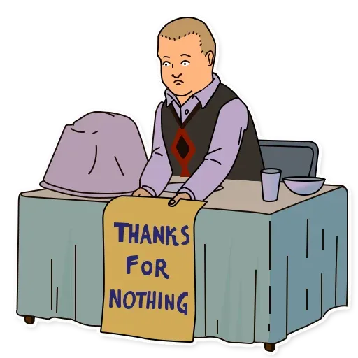 King of the hill - Sticker 19