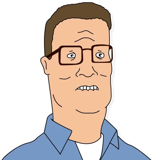 King of the hill - Sticker 8