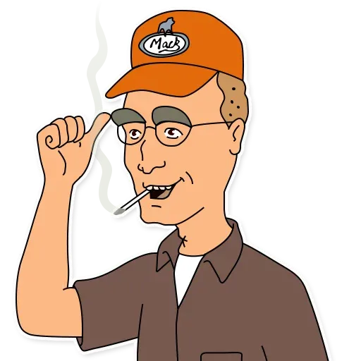 King of the hill - Sticker 29
