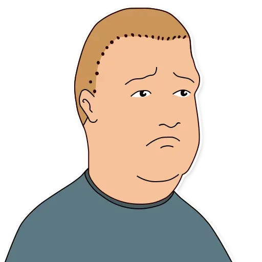 King of the hill - Sticker 21