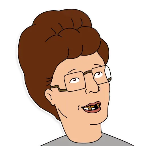 King of the hill - Sticker 22