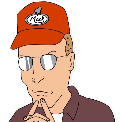 King of the hill - Sticker 28