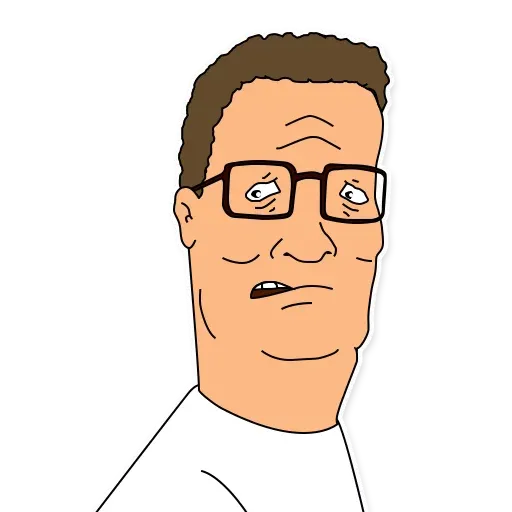 King of the hill - Sticker 11