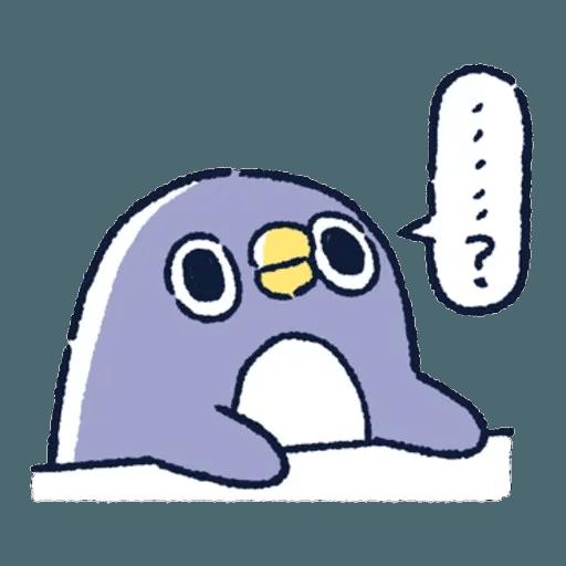 胖企鵝 3 - Sticker 3