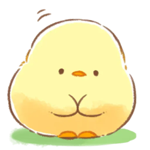 Soft and Cute Chick 3 - Sticker 19