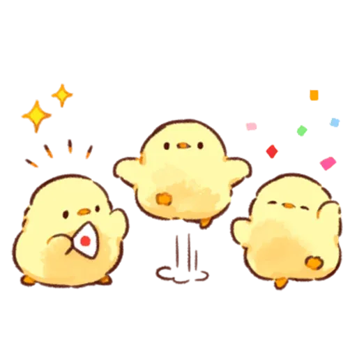 Soft and Cute Chick 3 - Sticker 14
