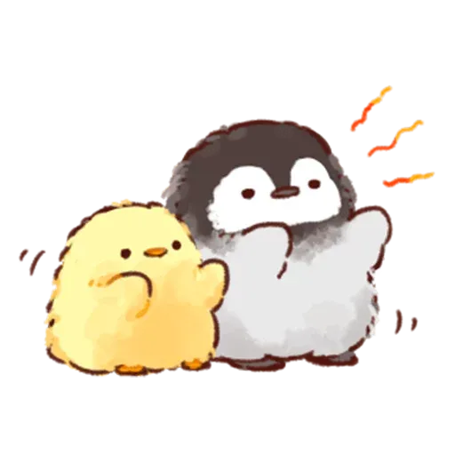 Soft and Cute Chick 3 - Sticker 12