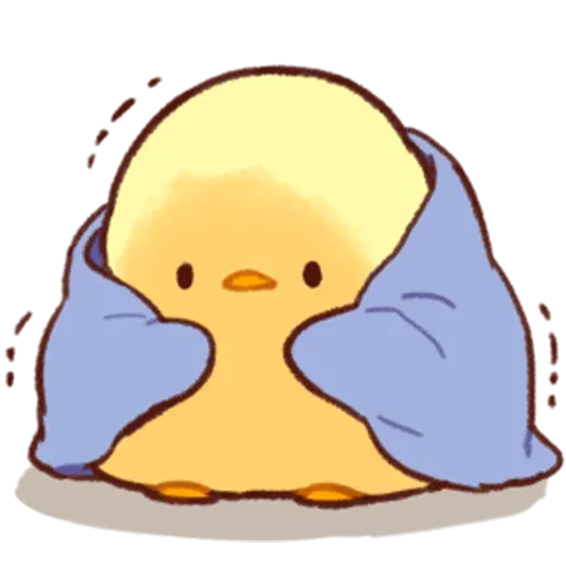 Soft and Cute Chick 3 - Sticker 2