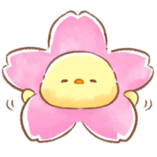 Soft and Cute Chick 3 - Sticker 28