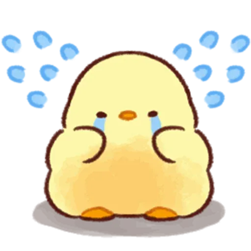 Soft and Cute Chick 3 - Sticker 7