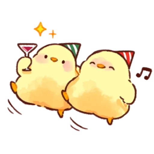 Soft and Cute Chick 3 - Sticker 11