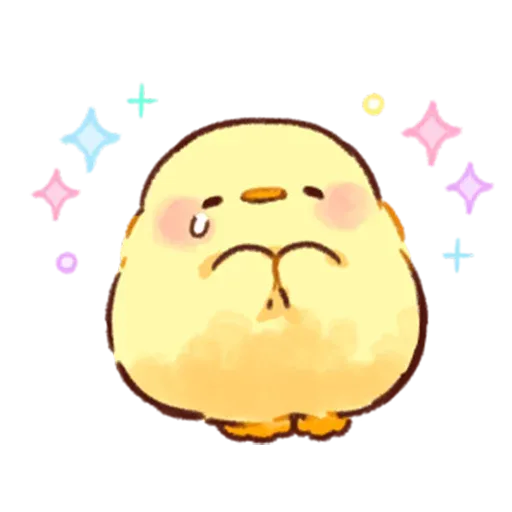 Soft and Cute Chick 3 - Sticker 13