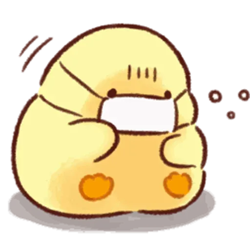 Soft and Cute Chick 3 - Sticker 8