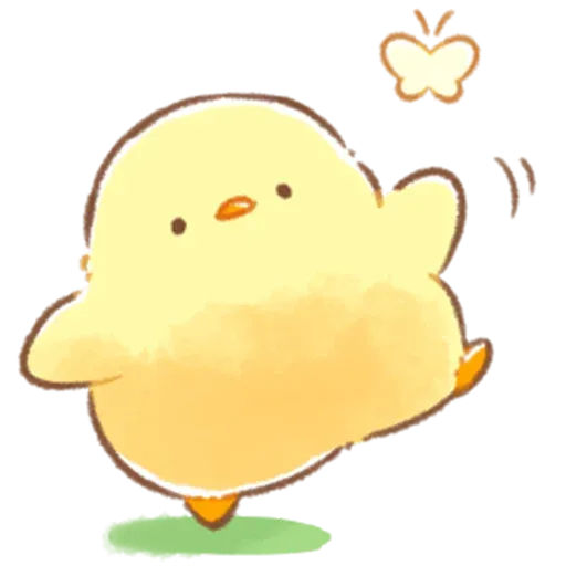 Soft and Cute Chick 3 - Sticker 15