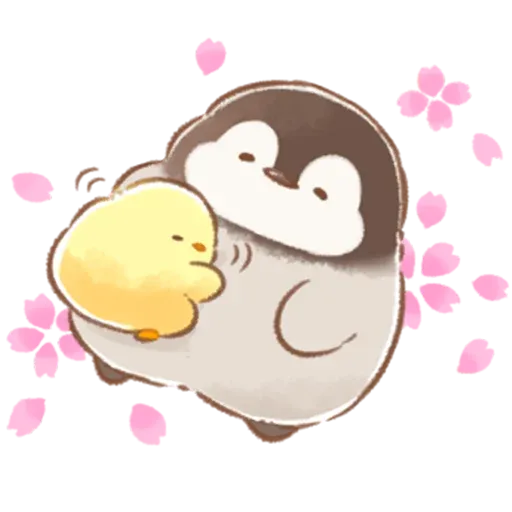 Soft and Cute Chick 3 - Sticker 17