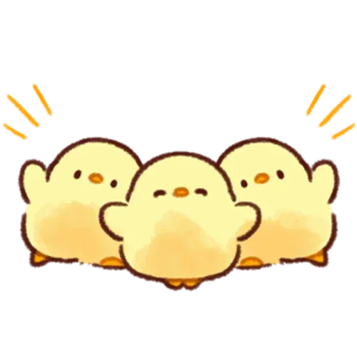Soft and Cute Chick 3 - Sticker 4