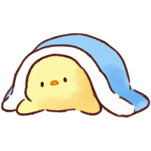 Soft and Cute Chick 3 - Sticker 3
