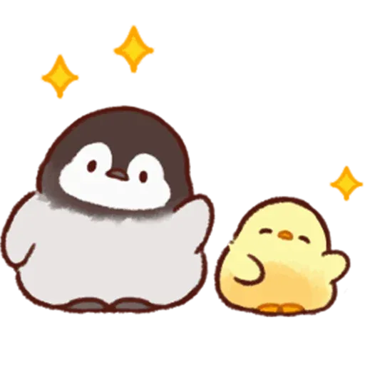 Soft and Cute Chick 3 - Sticker 9