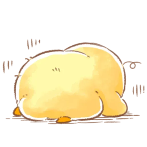 Soft and Cute Chick 3 - Sticker 26