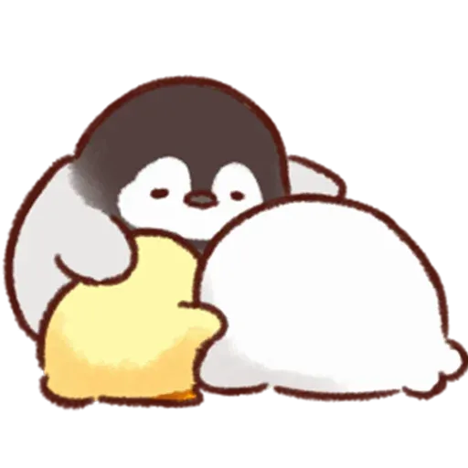 Soft and Cute Chick 3 - Sticker 5