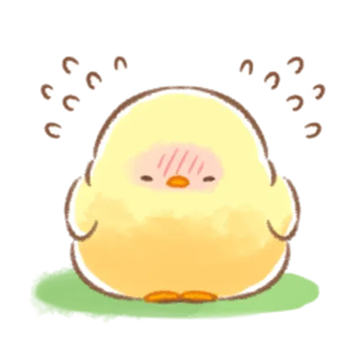 Soft and Cute Chick 3 - Sticker 20
