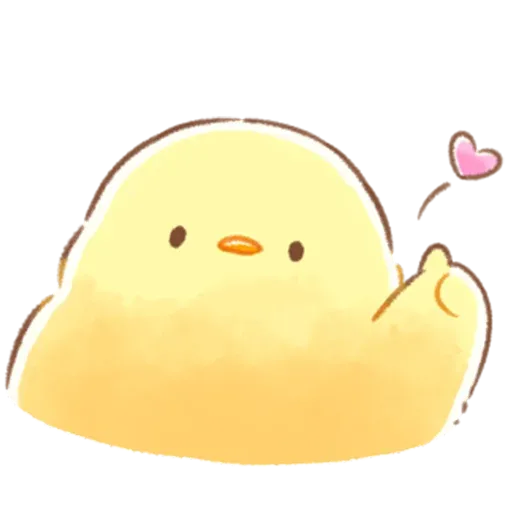 Soft and Cute Chick 3 - Sticker 16