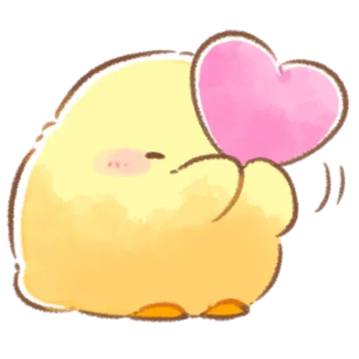 Soft and Cute Chick 3 - Sticker 22