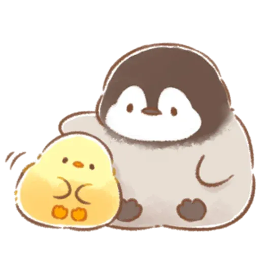 Soft and Cute Chick 3 - Sticker 18