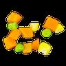 三色豆! - Tray Sticker