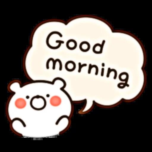 Bear Speech - Sticker 2