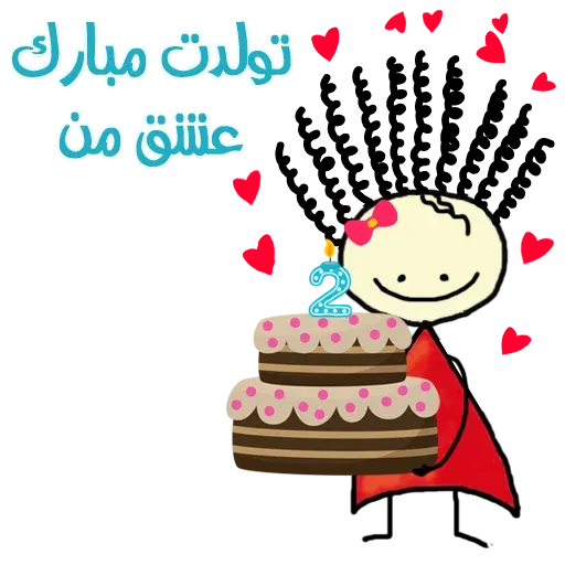 Birthday - Sticker 1