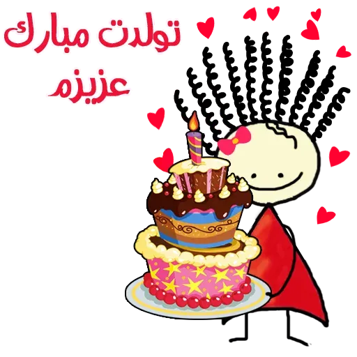 Birthday - Sticker 5