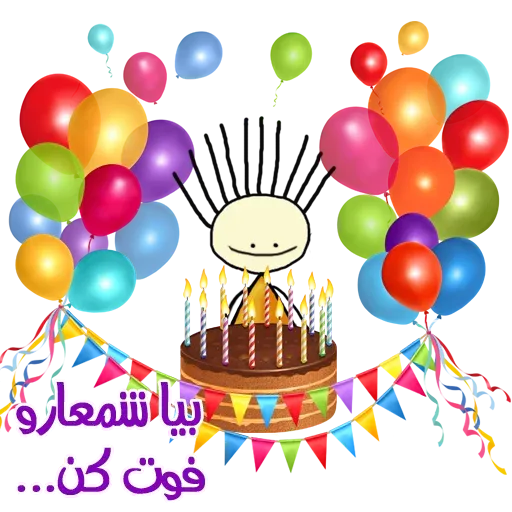Birthday - Sticker 7
