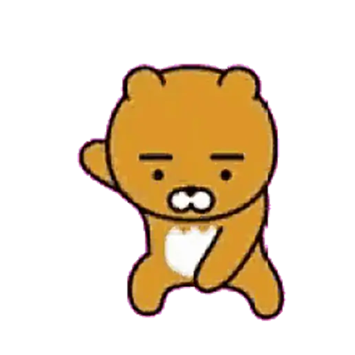 Kakao friends - Ryan - Sticker 4