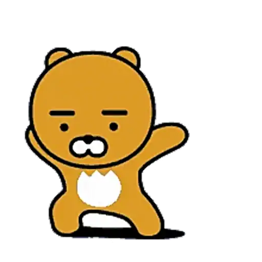 Kakao friends - Ryan - Sticker 2
