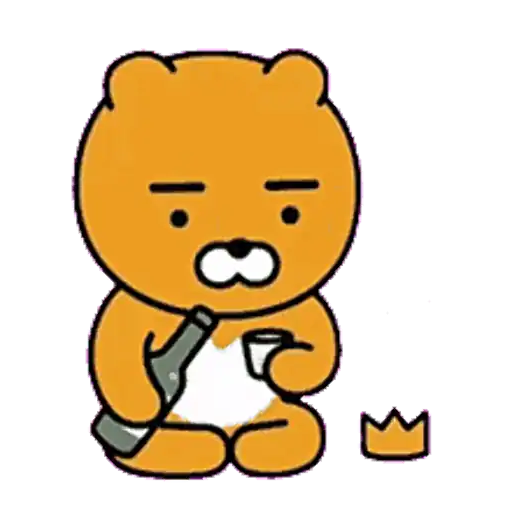 Kakao friends - Ryan - Sticker 5