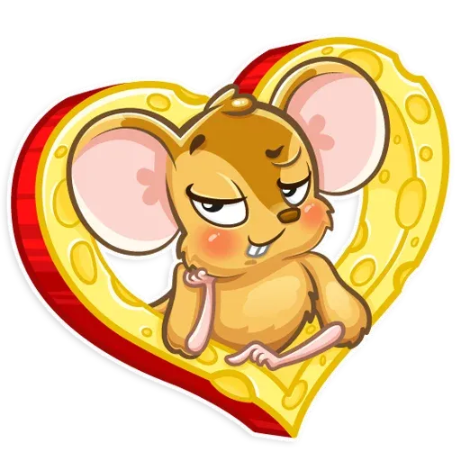 Arno the Mouse - Sticker 9