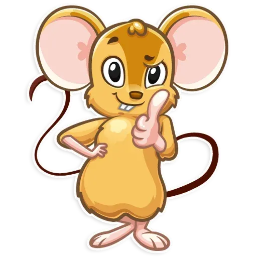 Arno the Mouse - Sticker 3