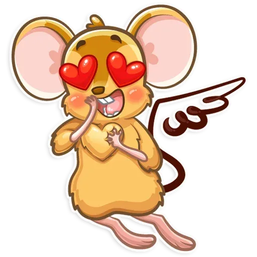 Arno the Mouse - Sticker 6