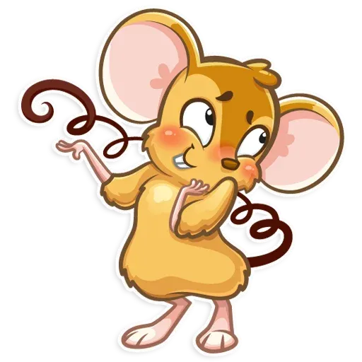 Arno the Mouse - Sticker 5